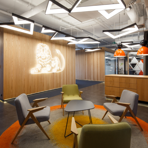 recent ING Innovation Lab Offices – Katowice office design projects