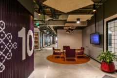 Signs & Wayfinding in Microsoft Offices - Hyderabad