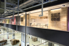 Mounted Linear in Unilever Vector Offices - Konya