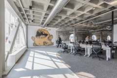 cement in Patreon Offices - San Francisco