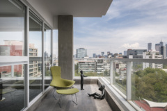 cement in SXKM 2.0 Offices - Mexico City