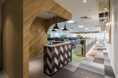 Drop Ceiling in Techbase Vietnam Offices - Ho Chi Minh City