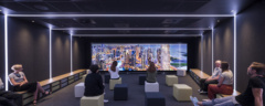 Video Wall in PwC Offices - London