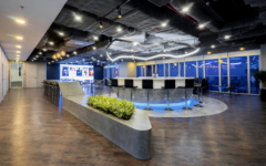 Projection Screen in Quoine Offices - Ho Chi Minh City