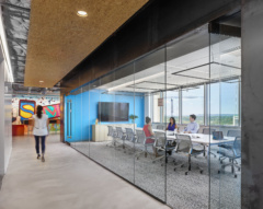 Mounted Linear in Kelly Scott Madison Offices - Austin