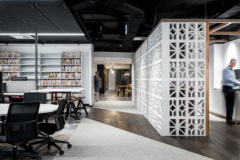 Recessed Linear in Hall Chadwick Offices - Brisbane
