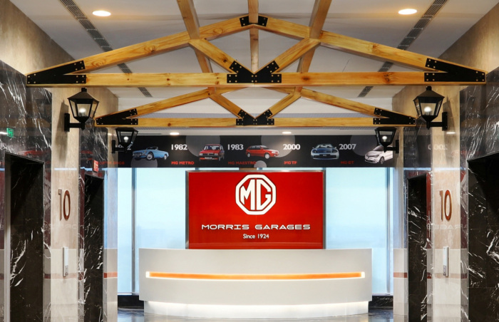 MG Motor Offices - Gurugram - 2