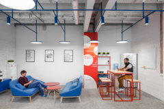 Sofas / Modular Lounge in R-Broker Offices - Moscow