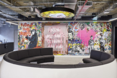 Neon in Sports Direct International Offices - London