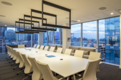 Mounted Linear in Husch Blackwell Offices - Denver