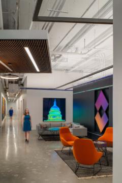 Sofas / Modular Lounge in FLIR Systems Offices - Arlington