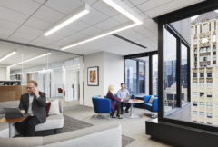 Drop Ceiling in Reed Smith LLP Offices - Chicago