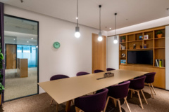 Recessed Downlight in SPACES Wong Chuk Hang Coworking Offices - Hong Kong