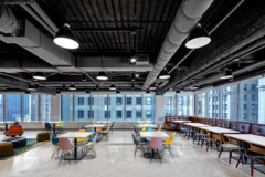 cement in Booking.com Offices - New York City