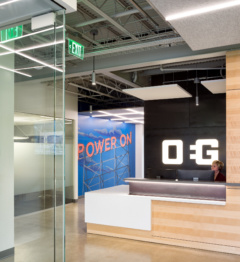 mounted-cove-lighting in OEG Offices - Portland