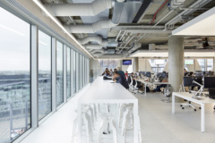 Hanging Acoustic Panel in The Hut Group Offices - Manchester