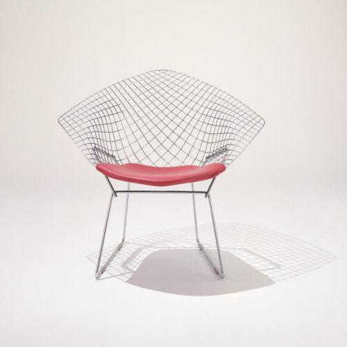 Bertoia Diamond Chair by Knoll