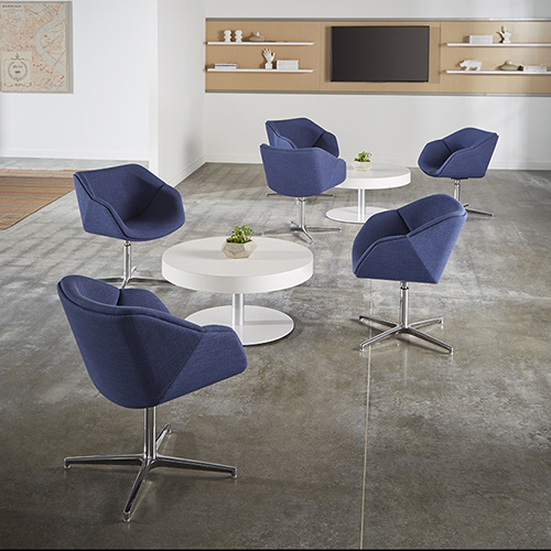 Delgado Seating Collection by National Office Furniture