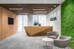Mounted Linear in Oticon Offices - Warsaw