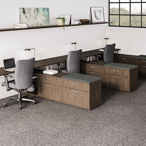WaveWorks Casegoods by National Office Furniture