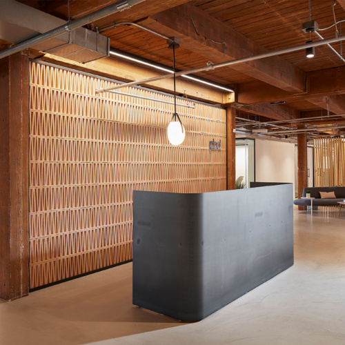 Custom Reception Desks by Icon Modern
