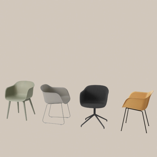Fiber Chair Series by Muuto