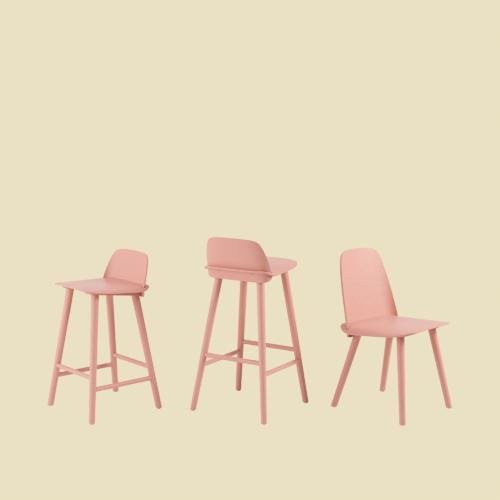 Nerd Chair Series by Muuto