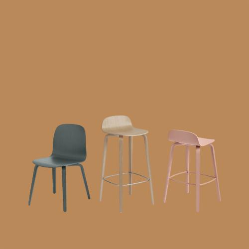 Visu Chair Series by Muuto