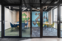 cement in Ten Square Games Offices - Wroclaw