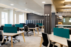 Recessed Cylinder / Round in Charlton Morris Offices - Leeds