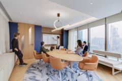 mounted-cove-lighting in Pernod Ricard Offices - Hong Kong