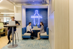 Neon in Pernod Ricard Offices - Hong Kong