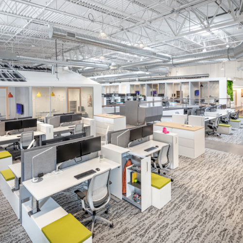 recent Crocs Offices – Broomfield office design projects