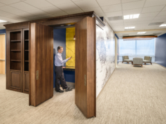 Lay-In / Troffer in Confidential Client Offices - Foster City