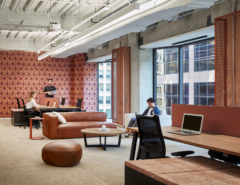 Sofas / Modular Lounge in 70 West Madison Marketing Office Suites - Chicago