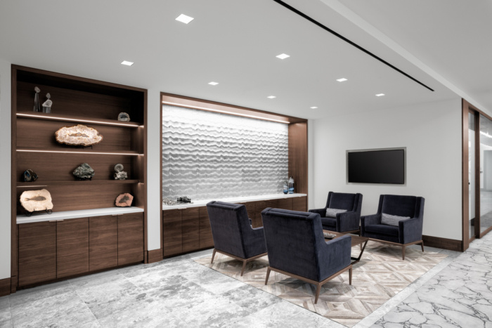 Newfield Exploration Executive Floor Offices - The Woodlands - 13