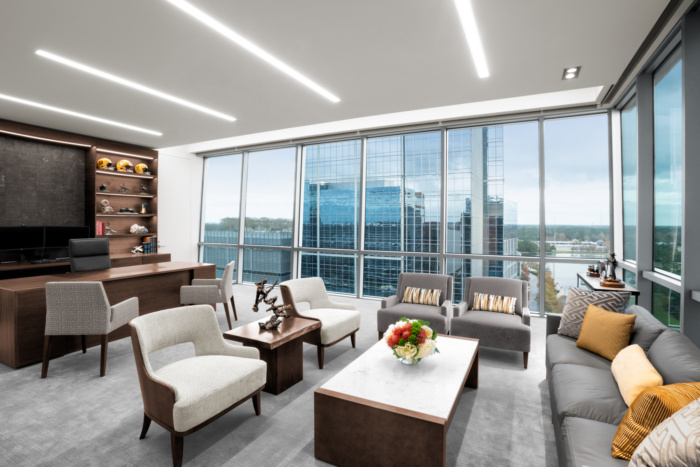Newfield Exploration Executive Floor Offices - The Woodlands - 10