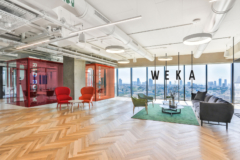 cement in WEKA Offices - Tel Aviv