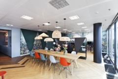 Recessed Cylinder / Round in IG Europe and Spectrum MTF Operator Offices - Frankfurt