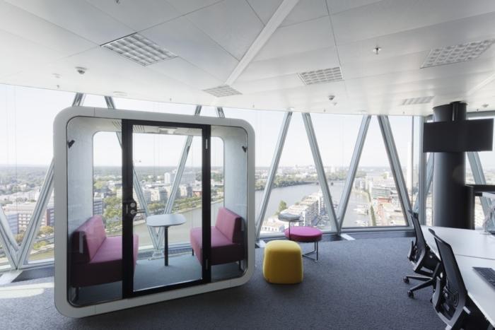 IG Europe and Spectrum MTF Operator Offices - Frankfurt - 2