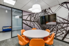 Drop Ceiling in Wind Energy Transmission of Texas Offices - Austin
