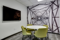 Meeting Room – Round / Oval Table in Wind Energy Transmission of Texas Offices - Austin