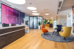 Recessed Cylinder / Round in Confidential Global Pharmaceuticals Company Offices - London