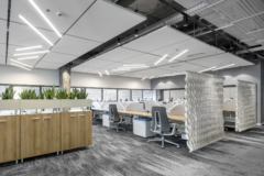 Acoustic Ceiling Panel in Confidential Medical Device Company Offices - Caesarea