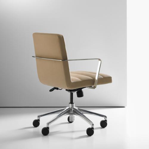 Duet Swivel Chair by Bernhardt Design
