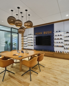 mounted-cove-lighting in Weyco Group Offices - Glendale