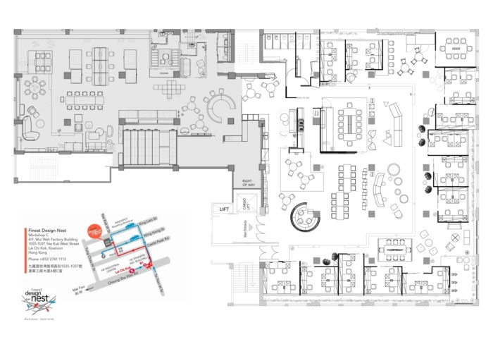 Finest Design Nest Coworking Offices Expansion – Hong Kong - 10