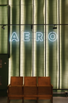 Neon in Aero Offices - Moscow