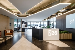 Mounted Linear in N26 Offices - Barcelona