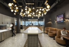 Stone Tile in Remedy Office - Chicago